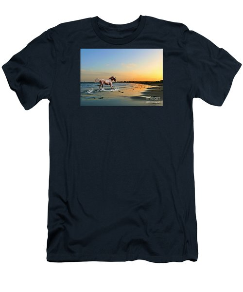 Run Like The Wind Men's T-Shirt (Athletic Fit)