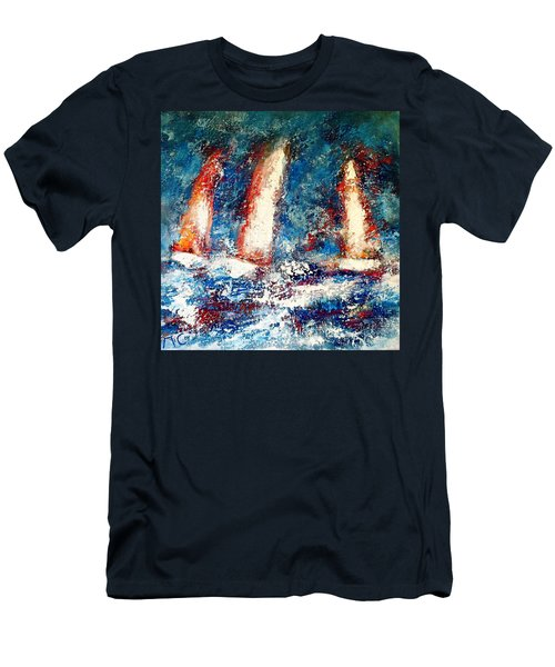 Sail On Men's T-Shirt (Athletic Fit)