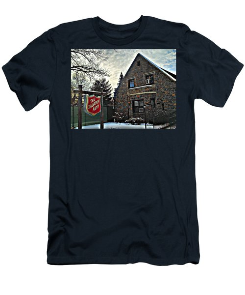 Salvation For The Masses Men's T-Shirt (Slim Fit)