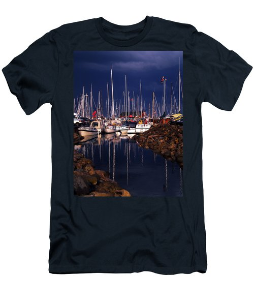 Samsoe Island Denmark Men's T-Shirt (Athletic Fit)
