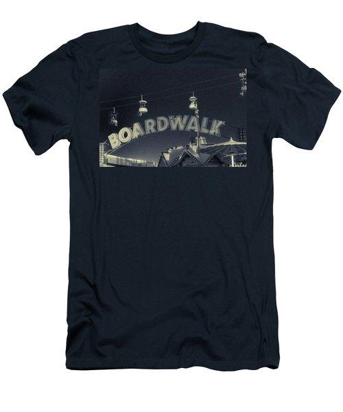 Santa Cruz Boardwalk 2 Men's T-Shirt (Athletic Fit)