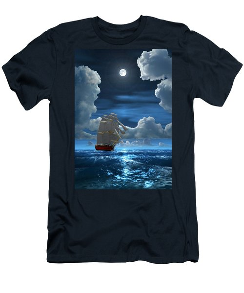 Santisima Trinida In The Moonlight 2 Men's T-Shirt (Athletic Fit)