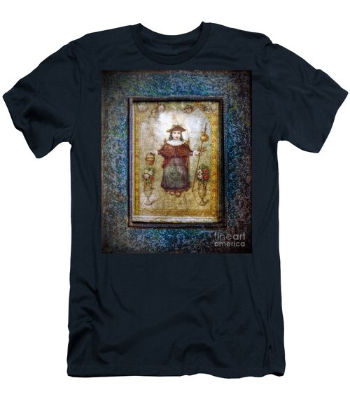 Santo Nino De Atocha Men's T-Shirt (Athletic Fit)