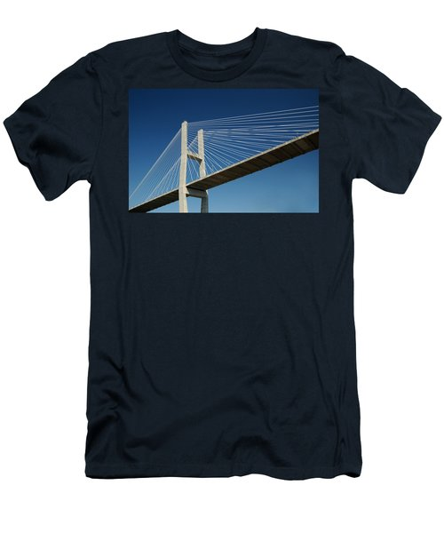 Savannah River Bridge Georgia Usa Men's T-Shirt (Athletic Fit)