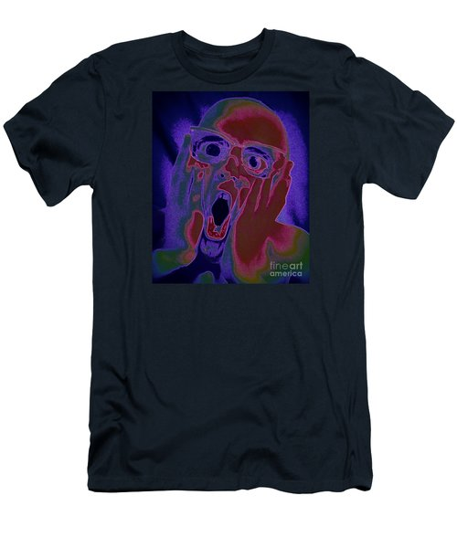 Scared Silly Men's T-Shirt (Athletic Fit)