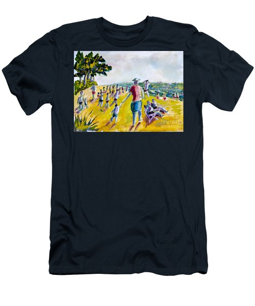 School's Out On The Beach Men's T-Shirt (Athletic Fit)