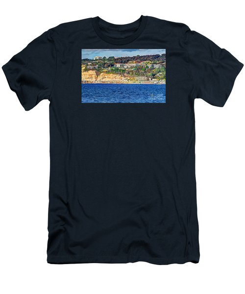 Men's T-Shirt (Slim Fit) featuring the photograph Scripps Institute Of Oceanography by Jim Carrell