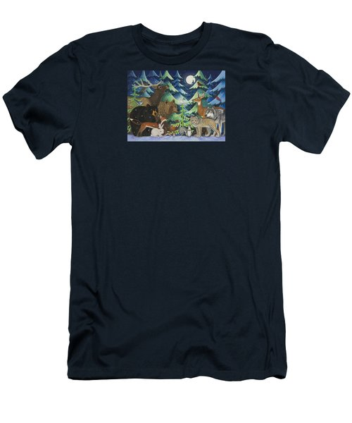 Spirit Of Peace Men's T-Shirt (Athletic Fit)