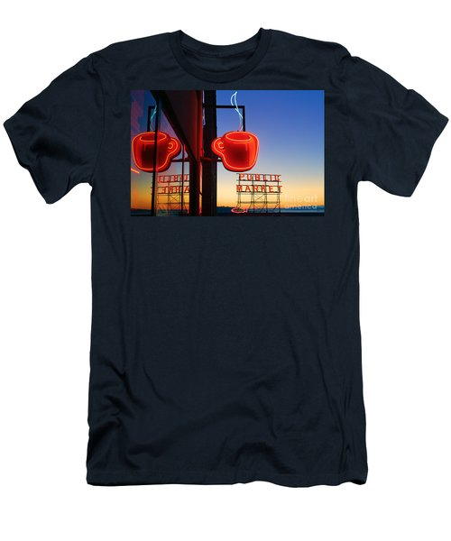 Seattle Coffee Men's T-Shirt (Athletic Fit)