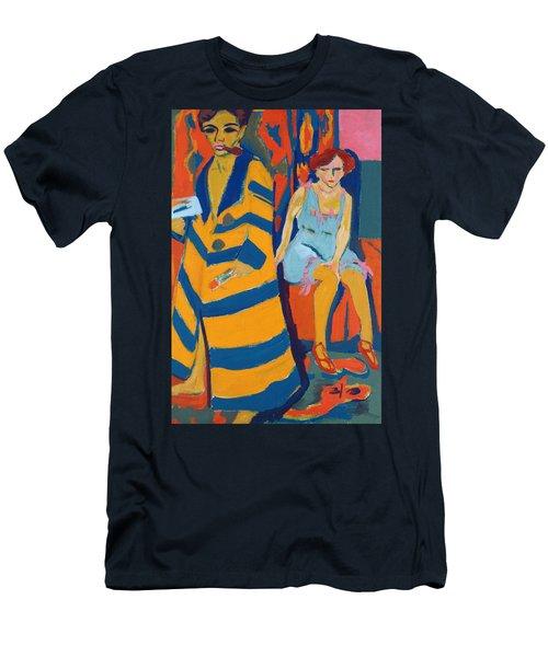 Self Portrait With A Model Men's T-Shirt (Athletic Fit)