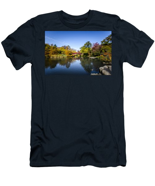 Men's T-Shirt (Athletic Fit) featuring the photograph Shades Of Fall by Johnny Lam