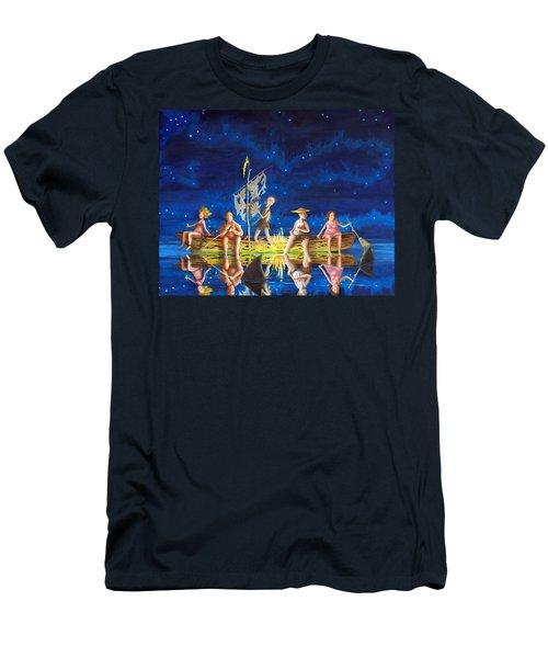 Ship Of Fools Men's T-Shirt (Slim Fit) by Matt Konar