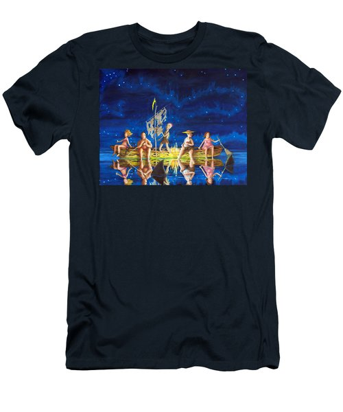 Ship Of Fools Men's T-Shirt (Athletic Fit)