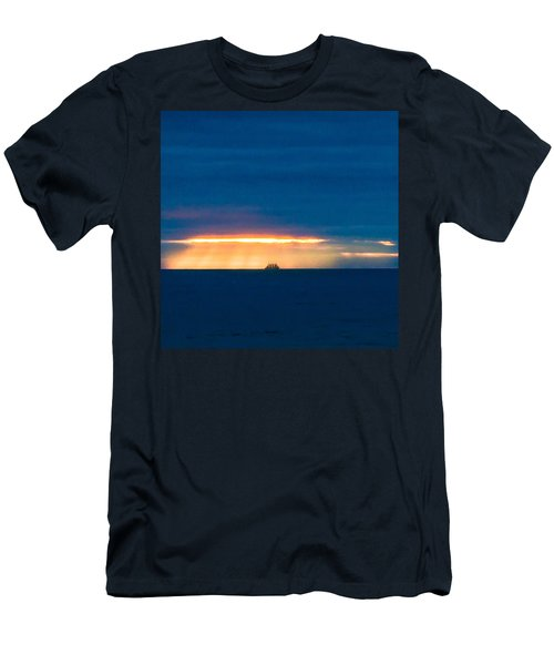 Ship On The Horizon Men's T-Shirt (Athletic Fit)