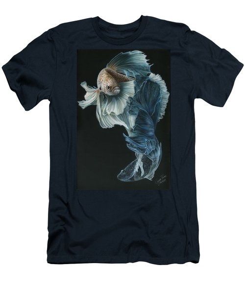 Siamese Fighting Fish Three Men's T-Shirt (Athletic Fit)