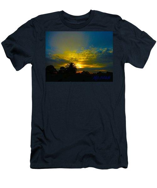 Silken Sunset Men's T-Shirt (Athletic Fit)
