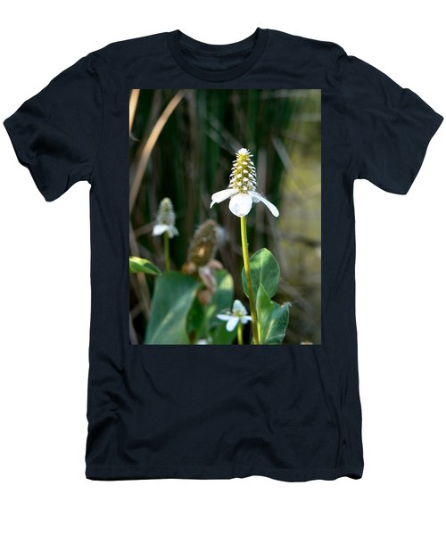 Men's T-Shirt (Slim Fit) featuring the photograph Simple Flower by Laurel Powell