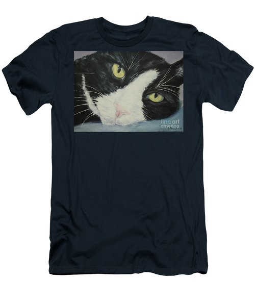 Sissi The Cat 1 Men's T-Shirt (Athletic Fit)