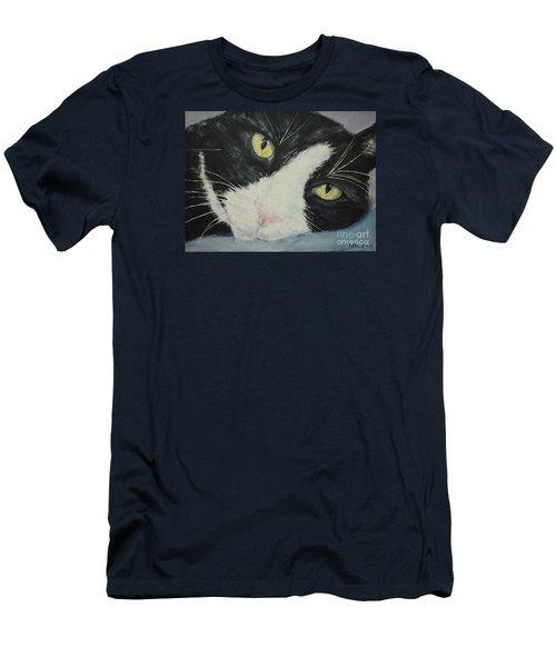 Sissi The Cat 1 Men's T-Shirt (Athletic Fit)