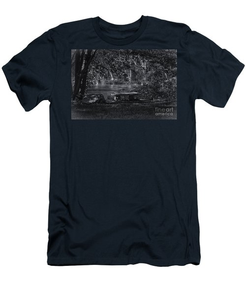 Men's T-Shirt (Slim Fit) featuring the photograph Sit And Ponder by Mark Myhaver