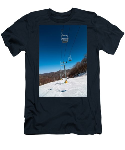 Ski Lift Men's T-Shirt (Athletic Fit)