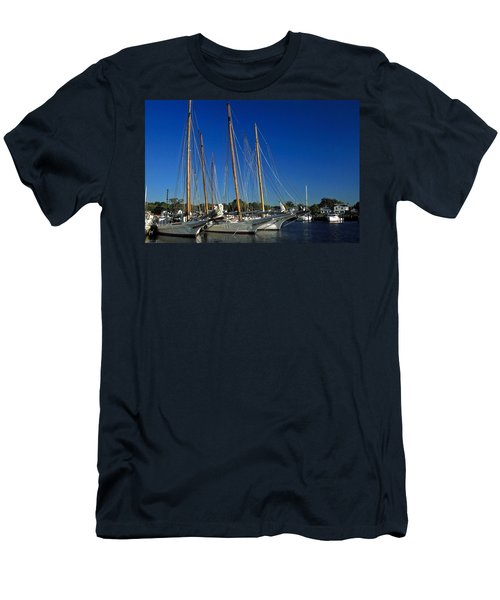 Skipjacks  Men's T-Shirt (Slim Fit) by Sally Weigand