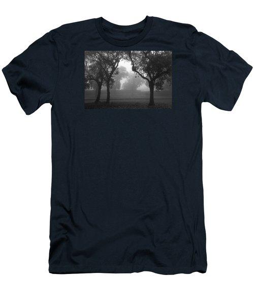 Men's T-Shirt (Slim Fit) featuring the photograph Skc 0063 Atmospheric Bliss by Sunil Kapadia
