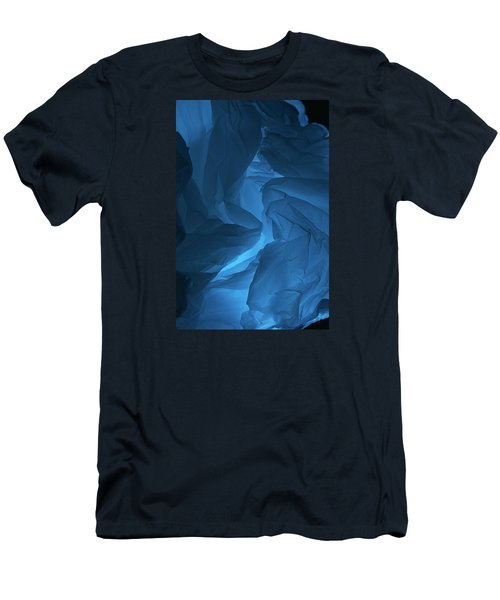 Men's T-Shirt (Slim Fit) featuring the photograph Skc 0247 A Mystery In Blue by Sunil Kapadia