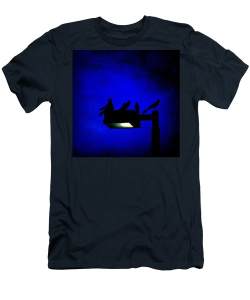Sleepless At Midnight Men's T-Shirt (Athletic Fit)
