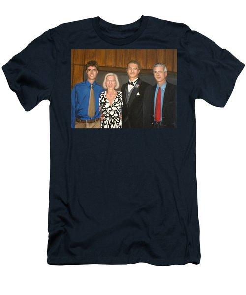 Smith Family Portrait Men's T-Shirt (Athletic Fit)