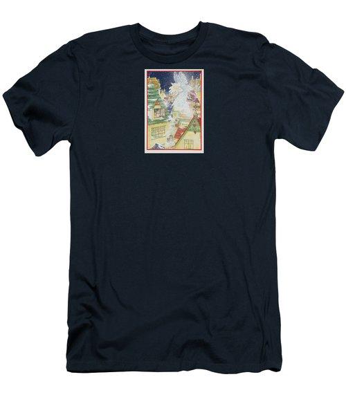 Snow Fairy Men's T-Shirt (Athletic Fit)