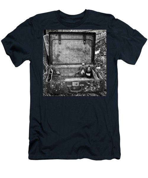 Sober Travels  Men's T-Shirt (Slim Fit) by Jerry Cordeiro