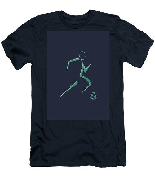 Soccer Player1 Men's T-Shirt (Athletic Fit)