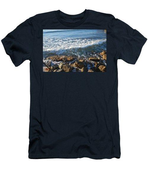 Soft Waves Men's T-Shirt (Athletic Fit)
