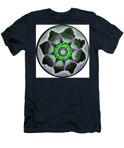 Solar Soul Purple Sky Men's T-Shirt (Slim Fit) by Patricia Arroyo