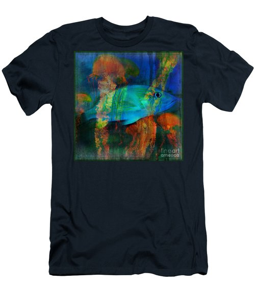 Something Fishy Men's T-Shirt (Athletic Fit)