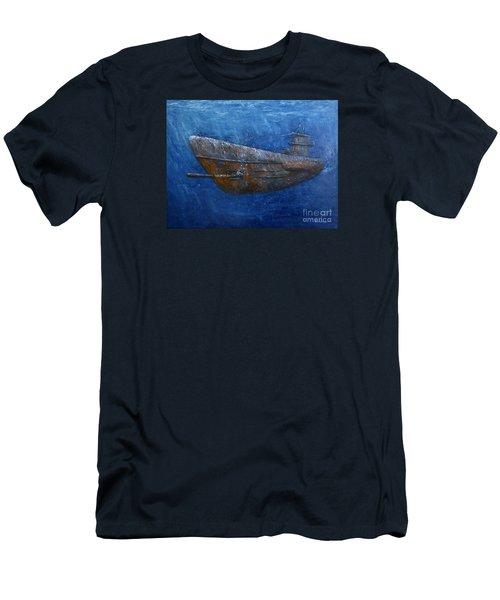 Soul Hunter Men's T-Shirt (Slim Fit) by Arturas Slapsys