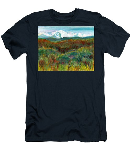 Spanish Peaks Evening Men's T-Shirt (Athletic Fit)