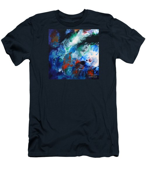 Spark Of Life Canvas One Men's T-Shirt (Athletic Fit)