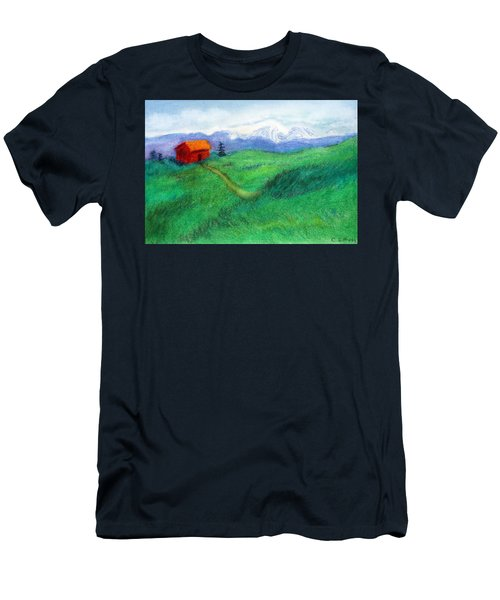 Spring Day Men's T-Shirt (Slim Fit) by C Sitton