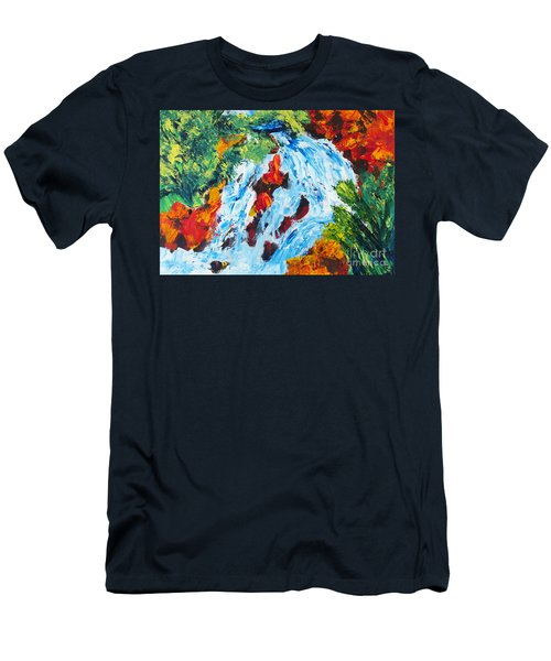 Spring Run-off 2 Men's T-Shirt (Athletic Fit)