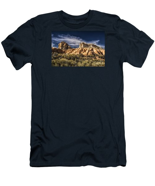 Men's T-Shirt (Slim Fit) featuring the photograph Spring Valley State Park by Janis Knight