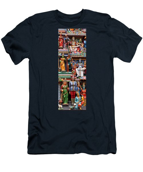 Sri Mariamman Temple 03 Men's T-Shirt (Athletic Fit)