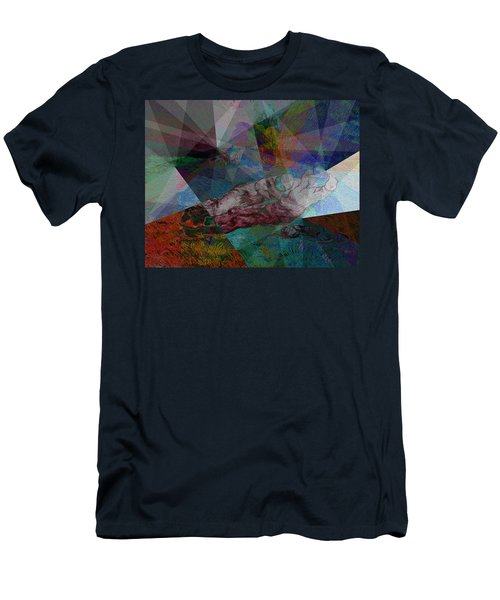 Stained Glass I Men's T-Shirt (Athletic Fit)