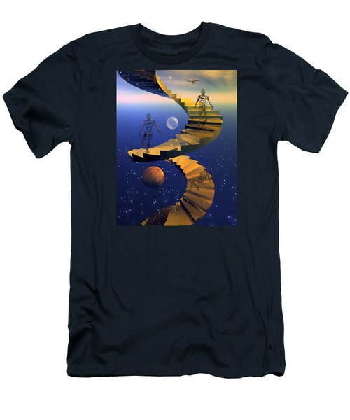 Stairway To Imagination Men's T-Shirt (Athletic Fit)