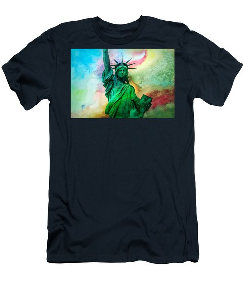 Stand Up For Your Dreams Men's T-Shirt (Slim Fit) by Az Jackson
