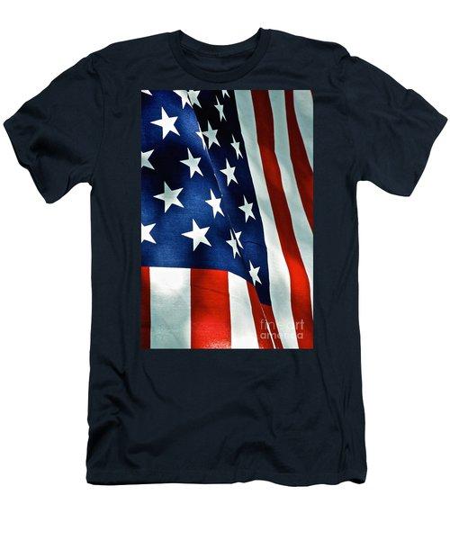 Star-spangled Banner Men's T-Shirt (Athletic Fit)