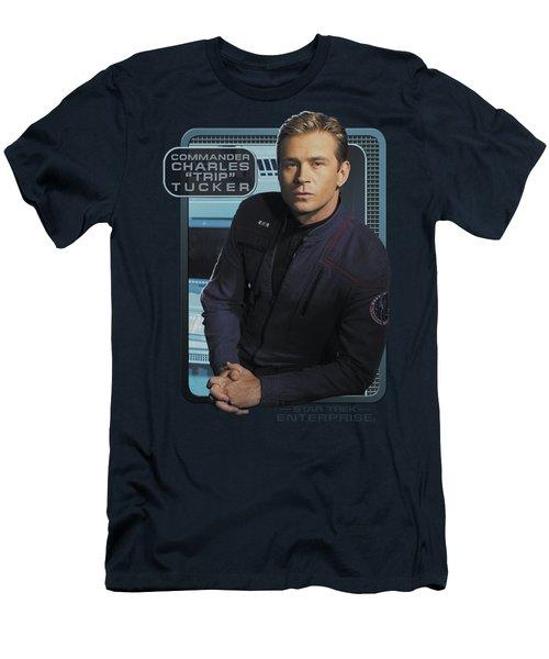 Star Trek - Trip Tucker Men's T-Shirt (Athletic Fit)
