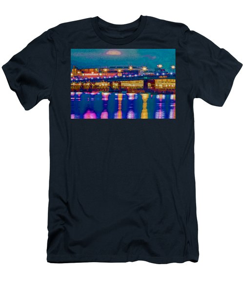 Starry Night At Nationals Park Men's T-Shirt (Athletic Fit)