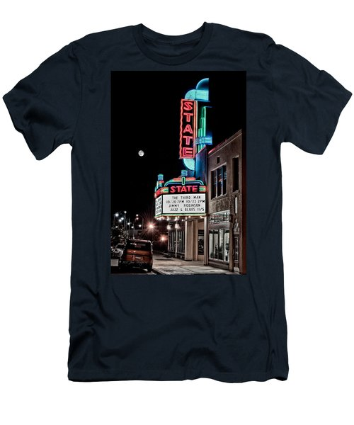 Men's T-Shirt (Slim Fit) featuring the photograph State Theater by Jim Thompson